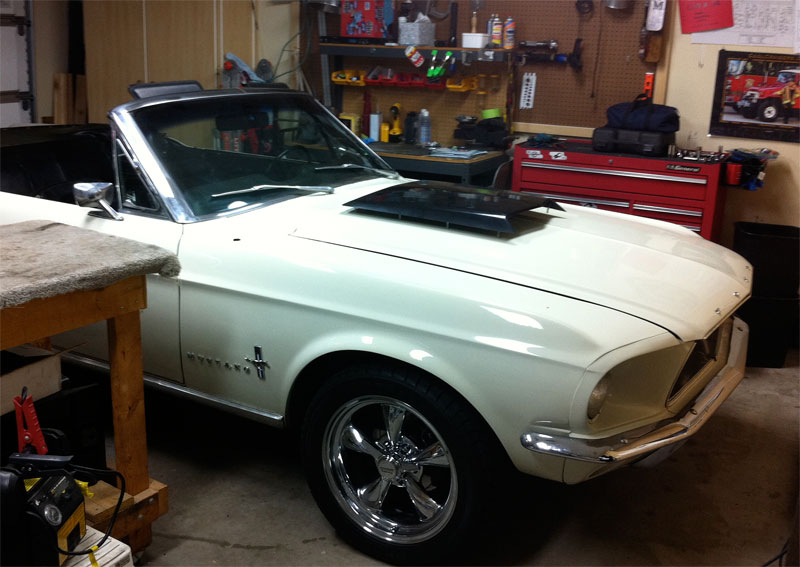 hood Scoop question - what to do next? | StangFix com